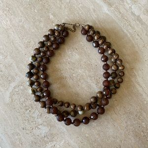 New York and Company beaded necklace